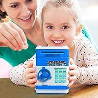 Huchas, Netspower Hucha Dinero Bancos, Electrónica Digital Mini ATM Ahorro de Bancos, Cajas de Ahorro de la Moneda Juguetes de Netspower
