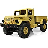 Generic New RC Military Truck Mini Off-Road Car Suspension Beam LED 4WD RC Crawler 4-Wheel Drive Cars Xmas Gifts For Boy Kids RTR