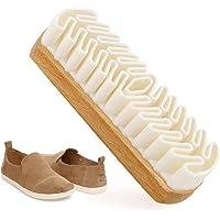 Koowaa Cuir Brosse Chaussures Nettoyant Brosse pour Daim Bottes Sacs Brosse De Nettoyage Ménage Brosse De Nettoyage
