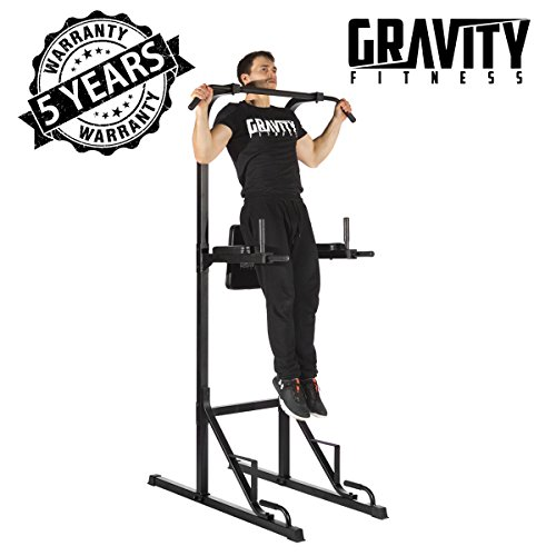 GRAVITY FITNESS Power Tower - Rack del Pull-up
