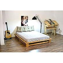 ABC MEUBLES - Futón cama de matrimonio Alteb - ALTEB - Miel, 160x200