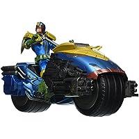 Judge Dredd Action Figure 1/12 Judge Dredd with Lawmaster Bike Box Set Previews Exclusive 17 cm Mezco Toys Figures - Spandex Uniform