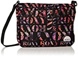 Roxy Sunday Smile - Bolsa de tela y de playa, color negro, 47 cm