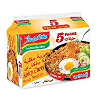 Indomie Spicy Curry Fried Noodles -  5 x 90 gm