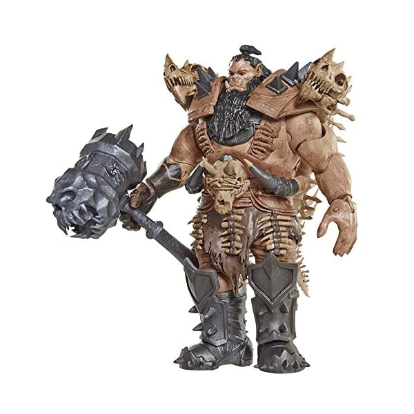 Warcraft 6 Blackhand Action Figure With Accessory by Warcraft 3