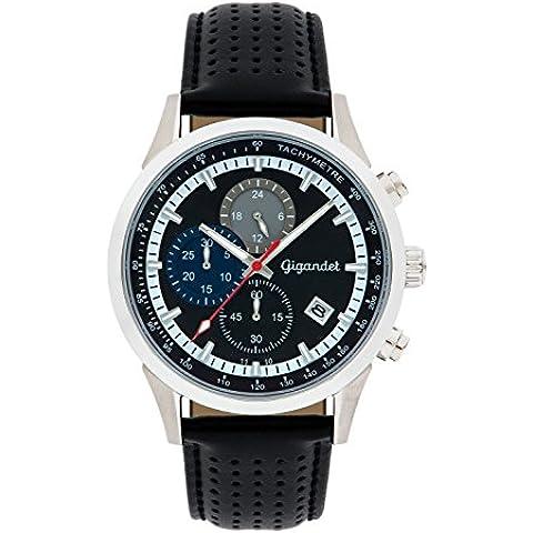 Gigandet Competition Orologio Uomo Cronografo Analogico Quartz Nero Blu G17-001