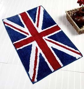 homescapes badematte duschvorleger badteppich flagge united kingdom 45 x 75 cm aus 100 reiner. Black Bedroom Furniture Sets. Home Design Ideas