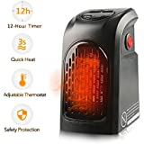 Handy Heater, Portable Space Heater, Electric Fan Heater Wall-Outlet for Home Office Room Travel