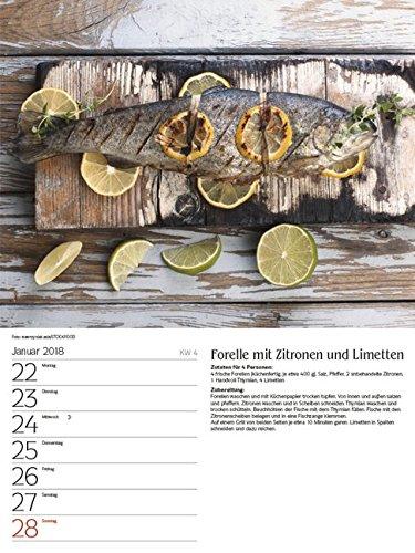 51FVaMiQTFL - Genussvoll Grillen 2018: Foto-Wochenkalender