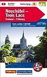 Neuchâtel, Trois Lacs: Velokarte Nr. 8, Massstab 1:60 000, waterproof, Free Map on Smartphone included (Kümmerly+Frey Velokarten)