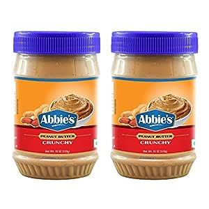 Abbie's Peanut Butter Crunchy, 510g, Pack of 2