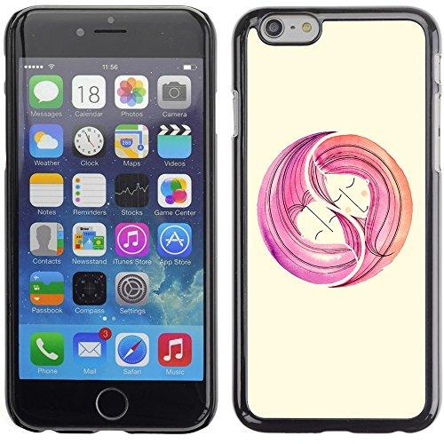 Graphic4You Herz Liebe Romantisch Regenbogen Niedlich Design Harte Hülle Case Tasche Schutzhülle für Apple iPhone 6 Plus / 6S Plus Design #1