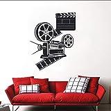 Crjzty Sticker Mural Film Amateur Film Autocollants Muraux Salle De Cinéma Décor...