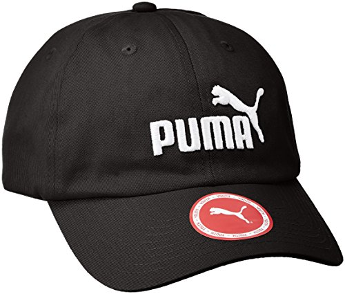 Puma Kinder ESS Cap Jr Kappe, Black/No.1, One Size