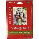 Canon Photo Paper Plus Glossy II PP201 papier photo 13x18cm 20 feuilles