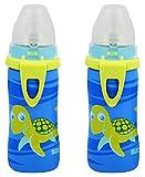 NUK Blue Turtle Silicone Spout Active Cu...