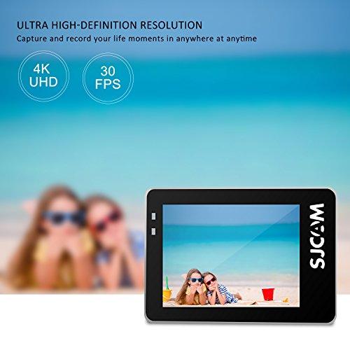 "SJCAM SJ7 STAR 4K HD WIFI Action Camera 2""LCD Touch Screen Metal Body Sports Camcorder Ambarella A12S75 Sony IMX117 Underwater Waterproof Digital Camera Gyro Stabilization Black"