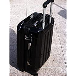 Koffertrolley schwarz Imex 60cm 4Rollen