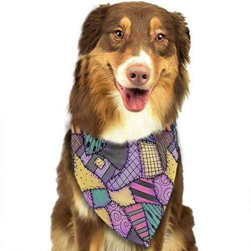 Hipiyoled Sally Ragdoll Scarti Bandana Cool Novelty Dog Cat Bandana Neckchief Accessori Moda
