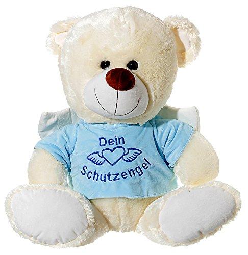Geschenke-Hensel Schutzengel-Bär aus Plüsch blau 70cm (Schutzengel Bär)