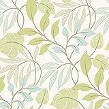 BHF 2535-20627 - Eden Modern Hoja Trail Wallpaper - Verde
