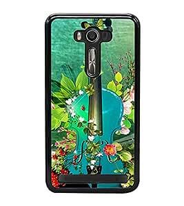 Blue Guitar 2D Hard Polycarbonate Designer Back Case Cover for Asus Zenfone Selfie ZD551KL