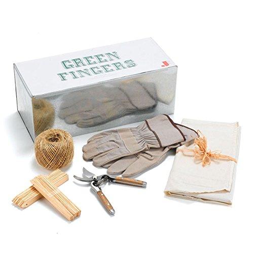 Preisvergleich Produktbild Jamie Oliver JME grün Finger Übertopf Geschenkset