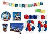 pro cos Kit N 65 Coordinato Compleanno Vari Personaggi (Trenino Thomas)