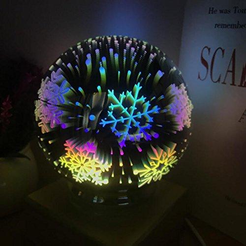 GAOJUAN Traditionellen/Klassischen Dekorativen Tischlampe Für Glas Baby Star Lichter Projektor Nachtlicht 360 Grad Rotierenden Lampe Farbwechsel Für Kinder Schlafzimmer, Hochzeit, Geburtstag, Partys