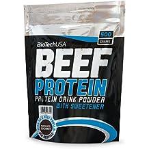 BioTech USA IAF00078313 Beef Protein, 500 g, Fragola