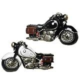 Motorradspardose, riesige,tolle Motorrad,Motorradfahrer Spardose in schwarz old Style