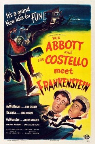 Posters Abbott Costello treffen Frankenstein Film Mini-Poster 28 cm x43cm 11inx17in -