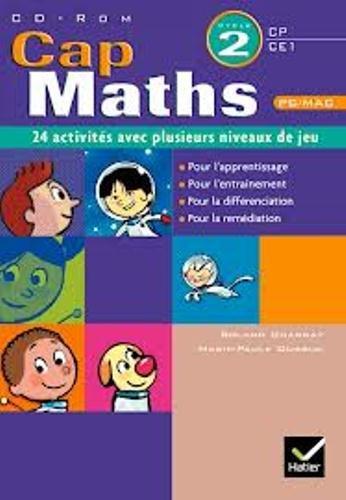 Cap Maths 2e Cycle, CP-CE : 24 activités avec plusieurs niveaux de jeu