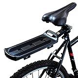 PedalPro Fahrrad-Gepäckträger hinten, mit Gummiband