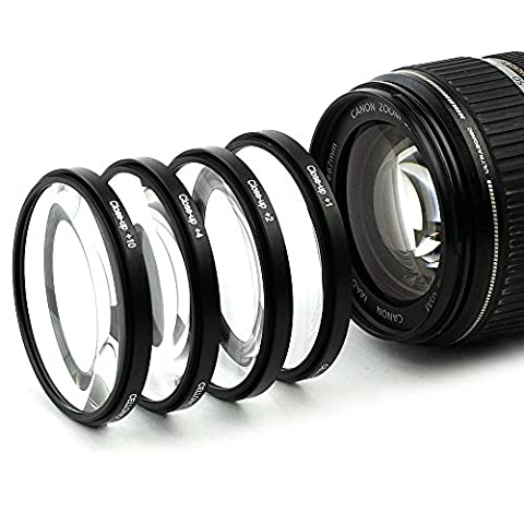 4x Makro Filtre pour Tokina 17-35mm 4 AT-X Pro FX SD 11-20mm 2.8 AT-X Pro IF DX (82mm)