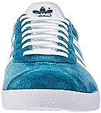 adidas Herren Gazelle Fitnessschuhe Mehrfarbig (Petnoc Ftwbla 0), 43 1/3 EU - 4