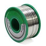 HSeaMall, filo per saldatura, di 0,6 mm, al 99,3% in stagno e allo 0,7% in rame, senza piombo, con nucleo di colofonia, 100 g, per lavori di saldatura elettronica