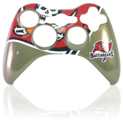 Xbox 360 Official NFL Tampa Bay Buccaneers Controller Faceplate by Mad Catz