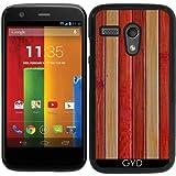Hülle für Motorola Moto G (Generation 1) - Holz by Warp9