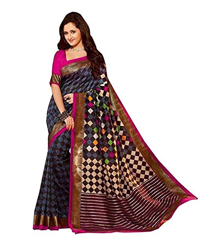 Saree (Women\'s Clothing Saree For Women Latest Design Wear Sarees Collection in Latest Saree With Designer Blouse Free Size Beautiful Bollywood Saree For Women Party Wear Offer Designer Sarees With B