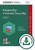 Kaspersky Internet Security 2017 - 1 User 1 Year - German / EU license - No CD/DVD - Only key Code (30 Days Money Back Guarantee)
