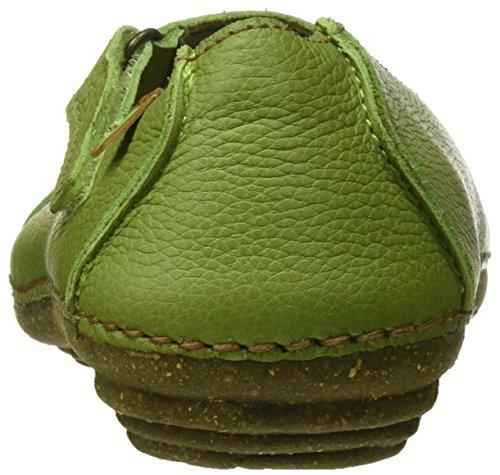 El Naturalista N376 Soft Grain Torcal, Merceditas Femme Vert (Green)