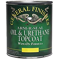 General Finishes Arm R Seal Top Coat, Satin, Pint by General Finishes