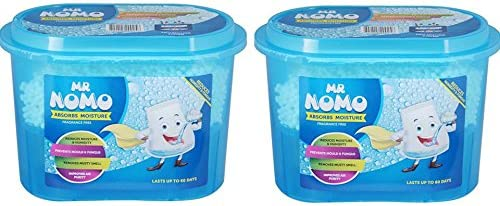Mr Nomo Moisture Absorber Fragrance Free - 300 g (Pack of 2)