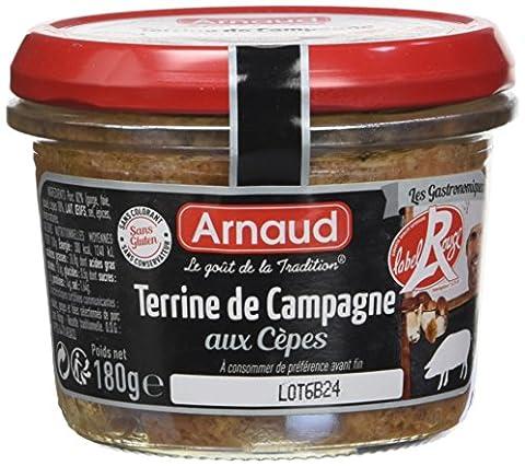 Label Rouge - ARNAUD Terrine de Campagne Label Rouge aux