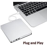 Disco CD/DVD-RW Masterizzatore esterno, esterno portatile Ultra Speed Slot CD/DVD-RW/Disco