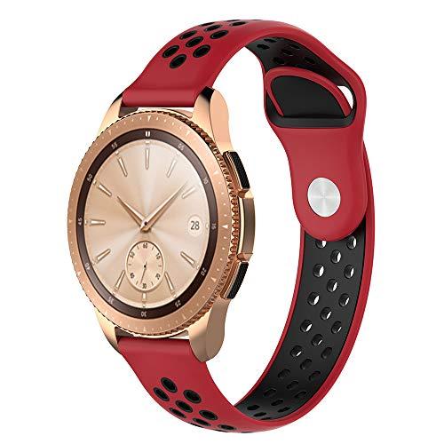 Preisvergleich Produktbild 99native Für Samsung Galaxy Classic Uhrenarmband 42MM, Hochwertiges Silikon exquisite und elegante Uhrenarmband Länge 230mm (H)