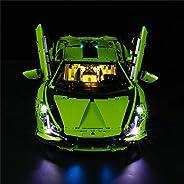 LED Lighting Kit for Lamborghini Sián FKP 37 Building Blocks Model Lighting Blocks Compatible with Lego 42115