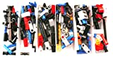 playmobil ® - Treppe - 2 Stufen - Rundtreppe - 10 x 4,5 cm - Holzstruktur
