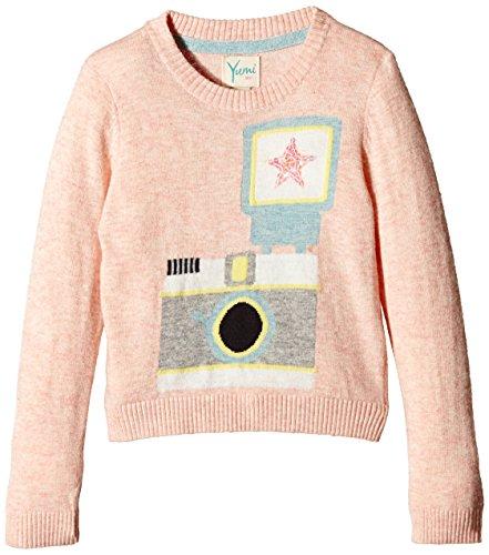 Yumi - Camera Jumper, Maglione per bambine e ragazze, rosa (pink), 7 anni